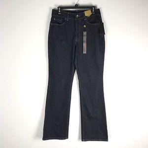 NWT Nine West sams marianna tummy bootcut jeans
